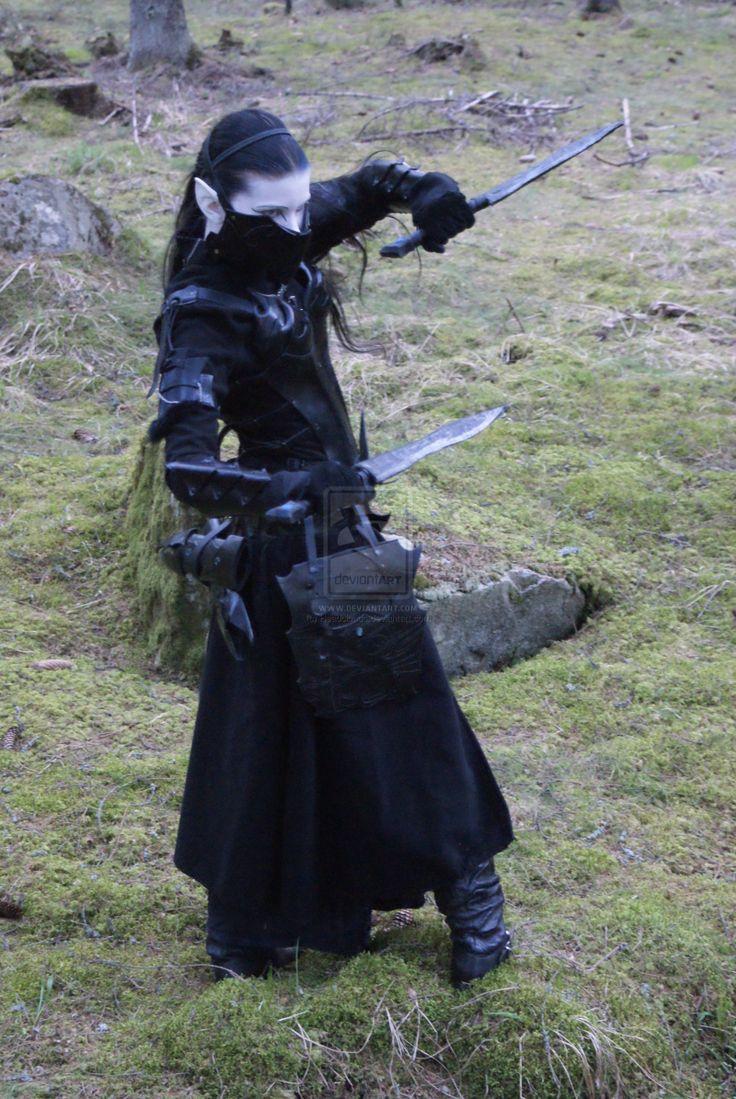 Dark Elf by Headclouds.deviantart.com on @deviantART
