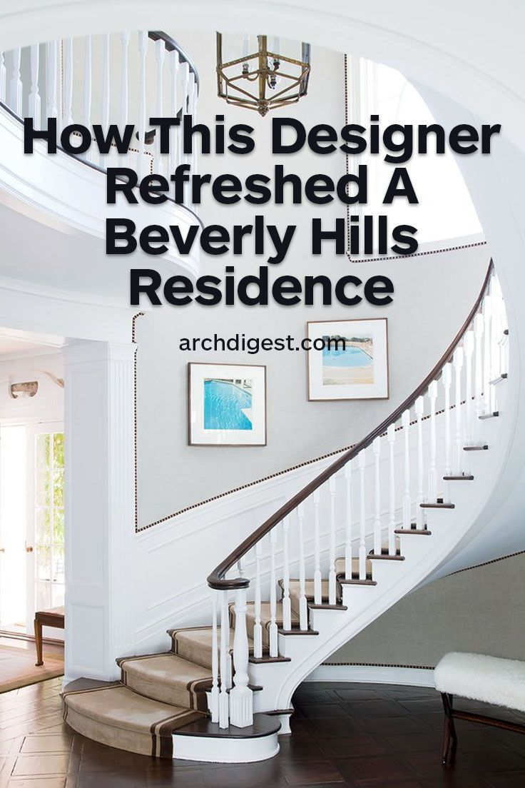 The renowned decorator creates a refined yet relaxed home for film producer Steve Tisch | archdigest.com