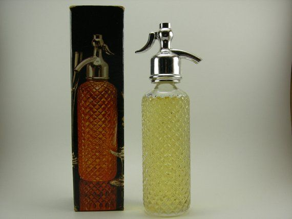 After Shave Clear Glass Bottle