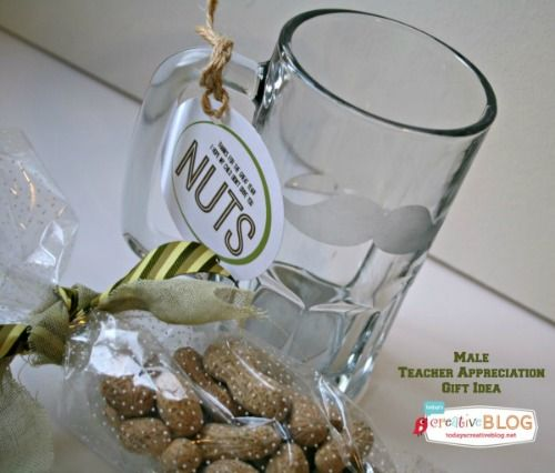 Teacher Appreciation Gift Ideas for Male Teachers are always hard to figure out! Here's a fun idea with an Etched Glass tutorial! I think they'll love it!