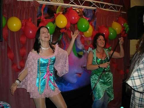 Carnavals uitzending studio Vlemmix