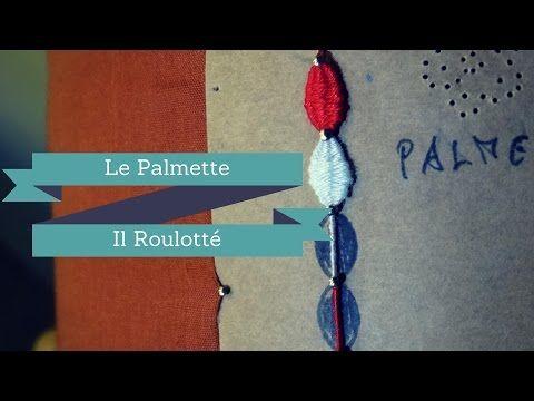 Merletto a tombolo - Progetto Farfalla #8 : antenne con palmette - YouTube