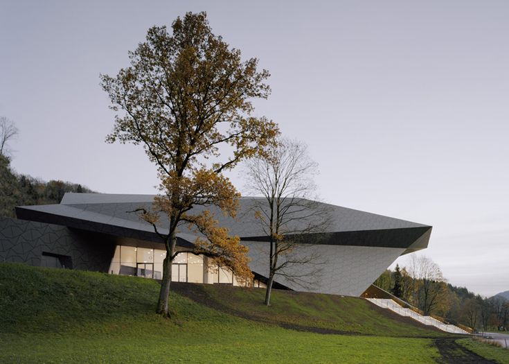 Festival hall of the tiroler festspiele erl austria by for Festival hall in erl