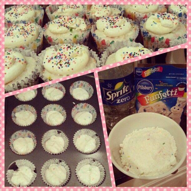 Life as a Wife: Skinny Funfetti Cupcakes