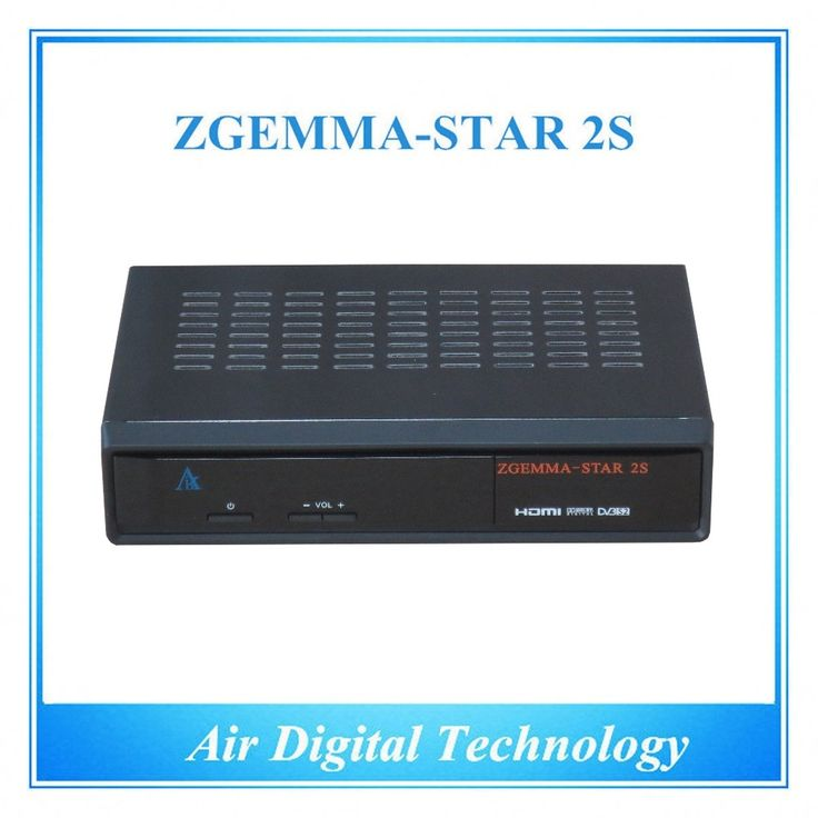 362.00$  Buy now - http://ali447.worldwells.pw/go.php?t=32448280419 - 5 pcs/lot HD dvb s dvb s2 twin tuner Linux OS Zgemma Star 2S satellite tv receiver 362.00$