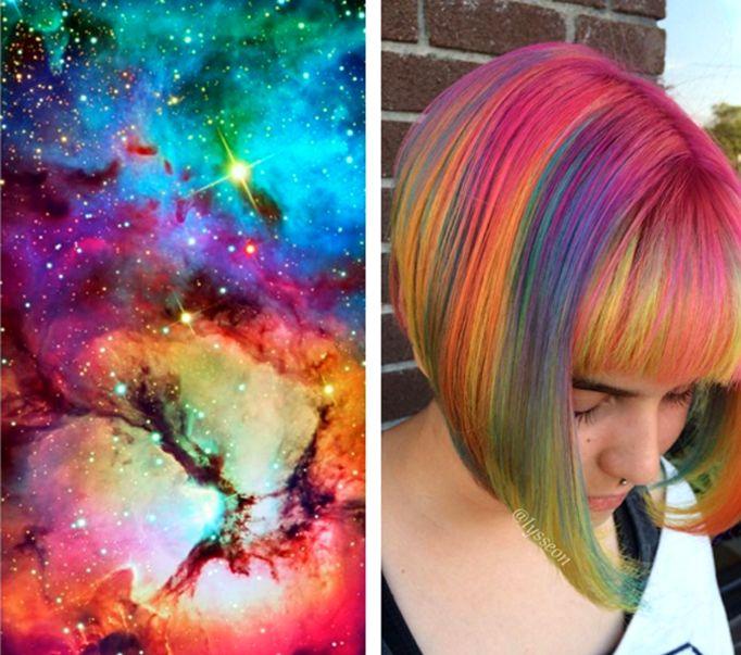 Cabelo colorido http://makemebetter.com.br/tendencia-space-hair-o-cabelo-que-te-leva-para-o-espaco/