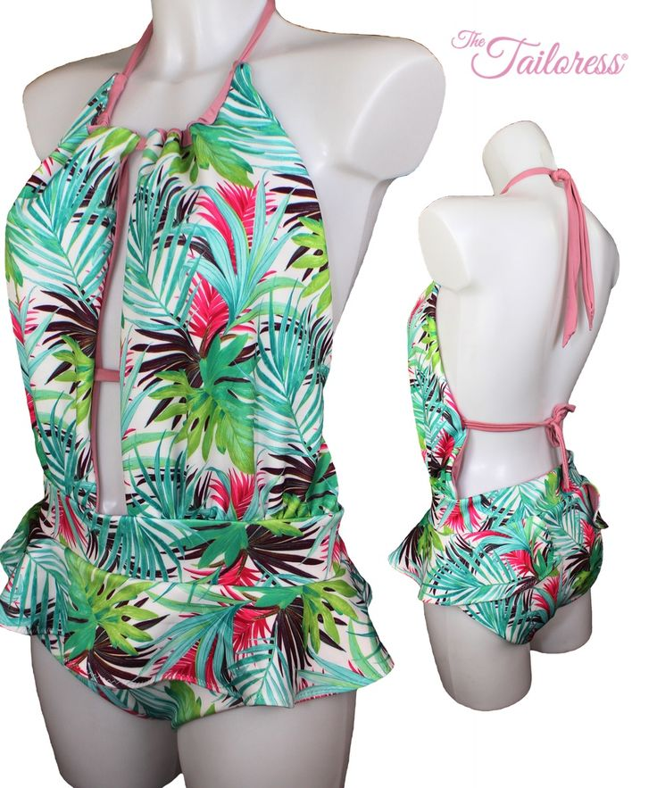 14 besten Swimsuit PDF Sewing Patterns Bilder auf Pinterest ...
