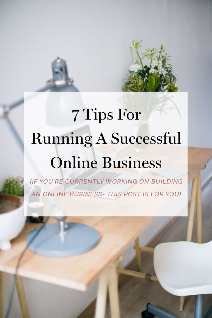 I've been successfully supporting myself by working online for the last four years. If you're currently working on building an online business, I've picked up seven essential tips for you. (business tips, blogging tips, blogging for money, blogging for profit, blogging 101)