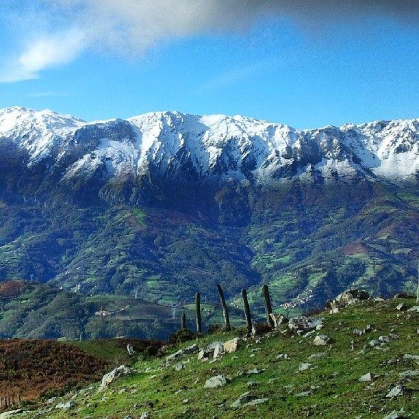 Sierra del Aramo desde el Pico Llosorio, #Mieres, #Asturias