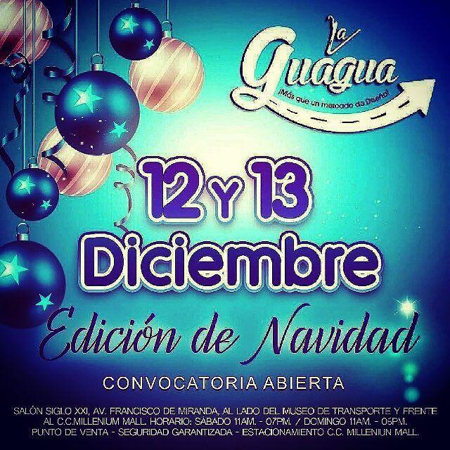 #Repost @rutadelaguagua  Al son de la Gaita y la Parranda Navideña celebraremos la 6ta Parada de La @rutadelaguagua los días 12 y 13 de Diciembre en Caracas si quieres participar envía tu propuesta con una breve reseña y fotografías de tus creaciones a rutadelaguagua@gmail.com.  #Navidad #gaitasenvivo #parrandas #Dj #animación #diseñovenezolano #moda #Cultura #Música #gourmet #arte #concursos #premios #diseñoemergente #chic #tendencias #fashion #trendy #Hechoenvenezuela #modavenezuela…