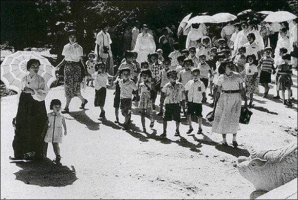1957, Seoul 덕수궁, 작가 이형록