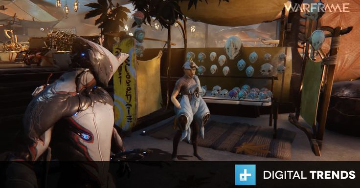 Next big 'Warframe' update brings players together in shared MMO-lite world