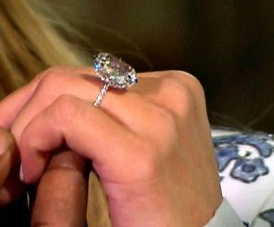 1227 best celebrity engagement rings images on pinterest kim kardashian ring junglespirit Images