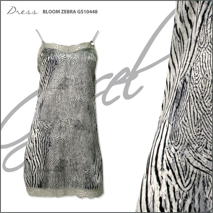 G.SEL DRESS - BLOOM ZEBRA GS10448