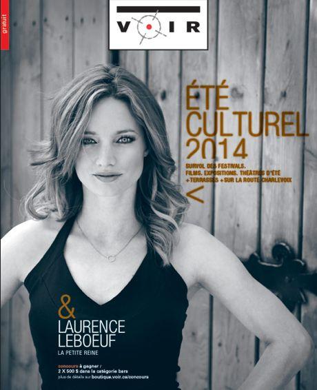 Laurence Leboeuf pour Voir - MUA/Hair : Sophie M.