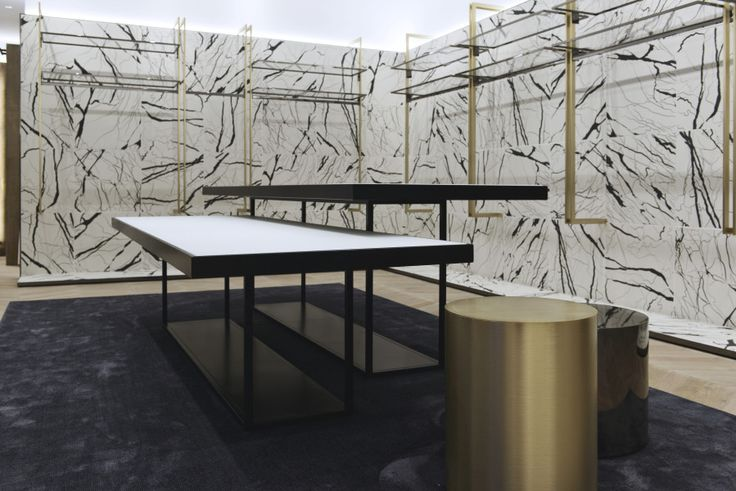 """The """"Marble Concept"""" designed by Fabio Caselli Design for the new retail concept defines style and mood of Silvian Heach: a contemporary, young,..."""