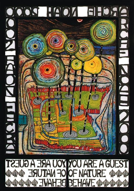 Hommage Bungalow Malerei | 14 Best Hundertwasser Images On Pinterest Art Lessons Visual