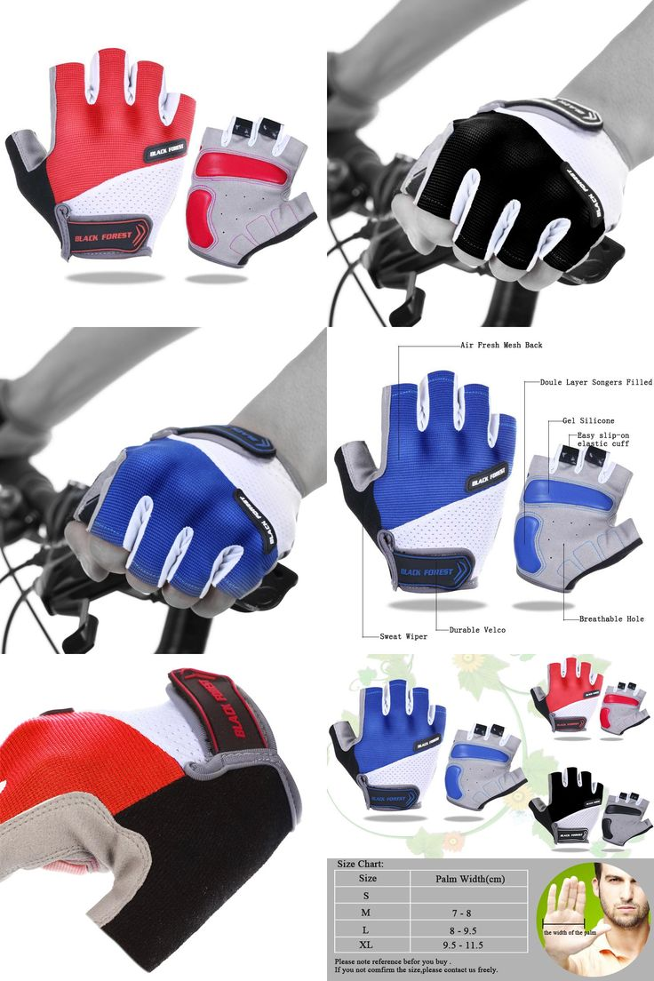 [Visit to Buy] Cycling Gloves Summer Bicycle Outdoor Sports Half Finger Breathable Gloves Shock MTB Gloves Men Women Road Motocross Gloves #Advertisement