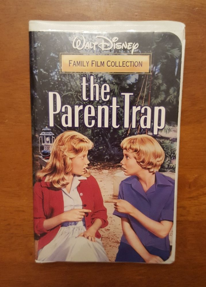 Walt Disney's Family Film Collection The Parent Trap VHS ...