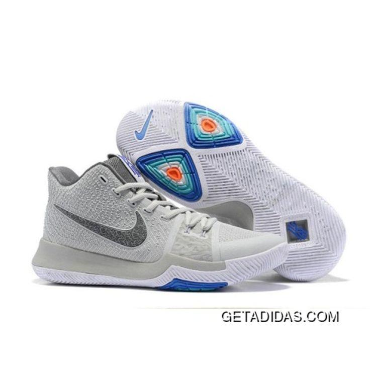 Nehmen Billig Deal Nike Kyrie 3 Cream Pe Greased Lightning Weiß Schwarz Schuhe Rot Billig