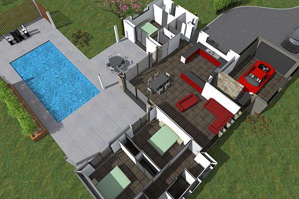 Les 263 meilleures images propos de maison sur pinterest for Constructeur maison moderne vaucluse