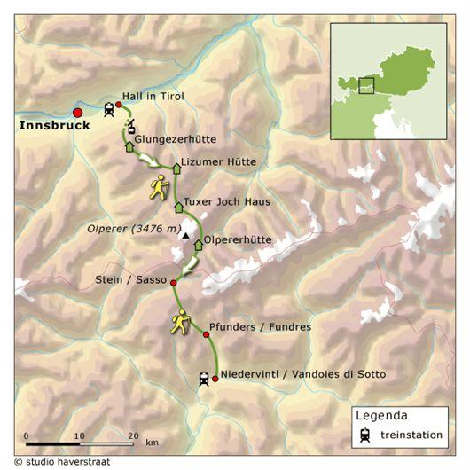 Alpen wandelvakantie, etappe 2 | wandelen vanuit berghutten en hotels