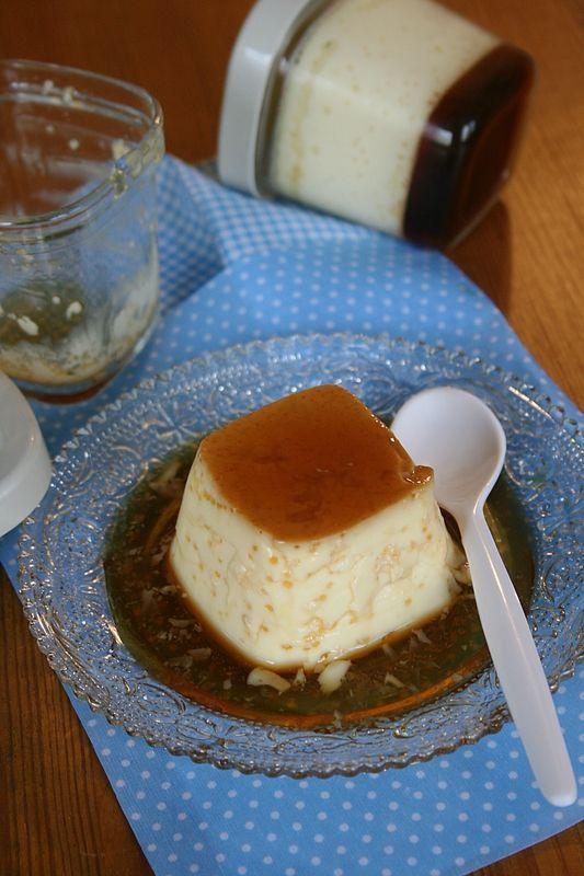 Flamby maison (dans la yaourtière Multi-délices et sans gélatine)