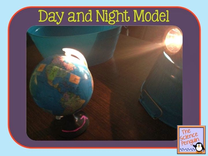 The Science Penguin: Day and Night Model