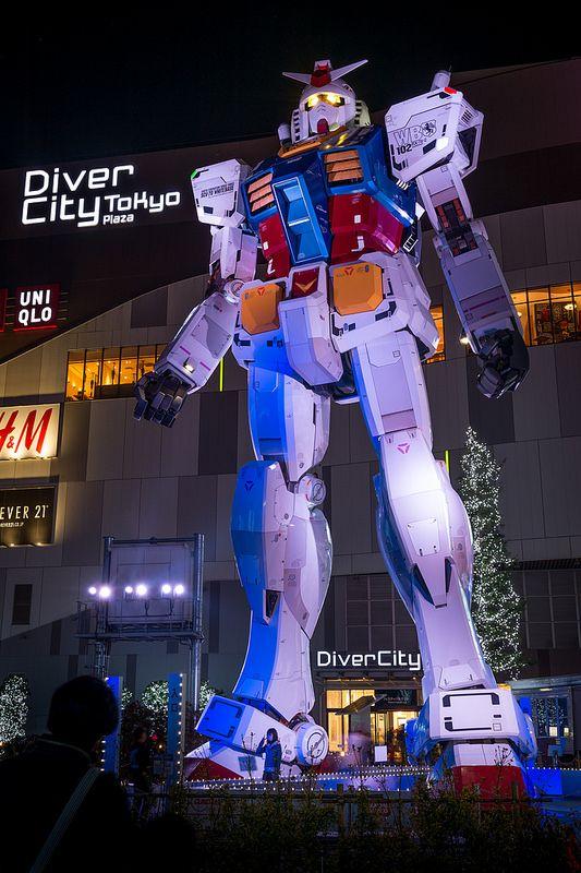 Gundam at Odaiba, Tokyo, Japan
