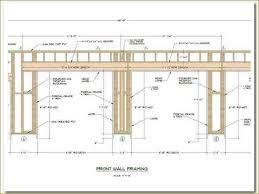 Image Result For Garage Door Header Framing Detail