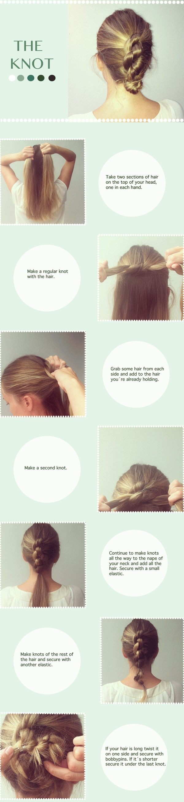 Really Easy! And If You Use Smaller Pieces Of Hair, It Looks Like A