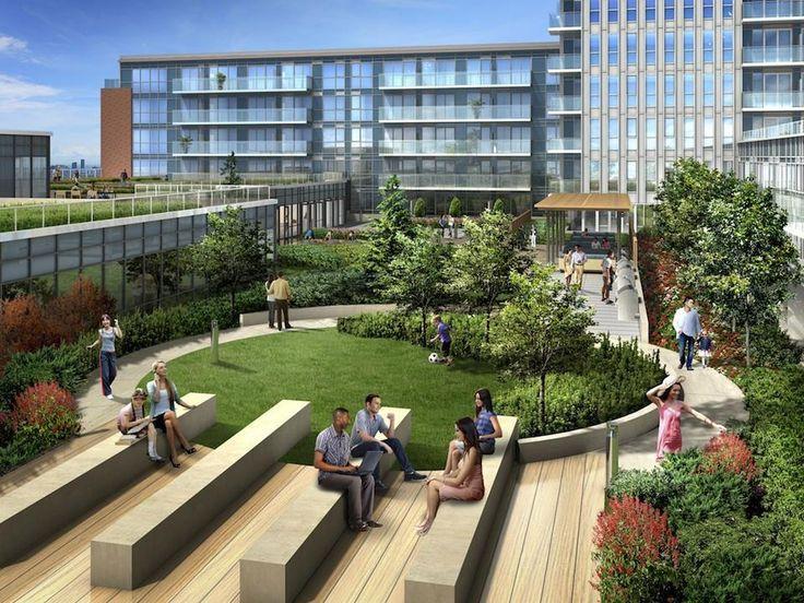 Rooftop Garden Urban Terraces