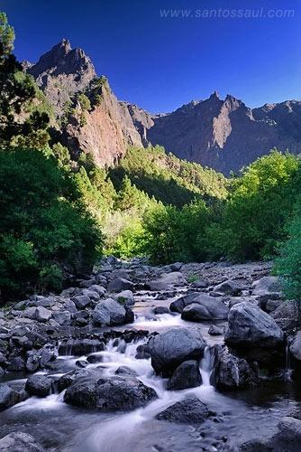 La Palma - Interior Caldera de Taburiente