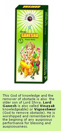 Ganesha - Divine Incense Sticks