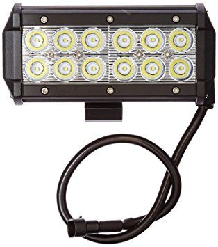 OPT7 C2 Series 12? Off-Road CREE LED Light Bar and Harness (Spot Auxiliary Lamp 6000 lumen)