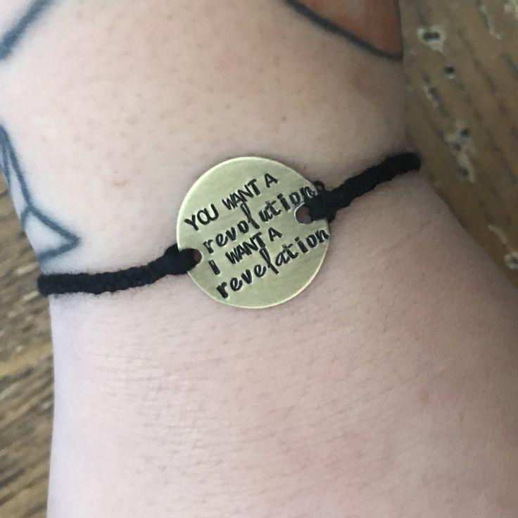 Hamilton - Schuyler Sisters - lyrics bracelet by laurennicole on Etsy https://www.etsy.com/listing/523889105/hamilton-schuyler-sisters-lyrics