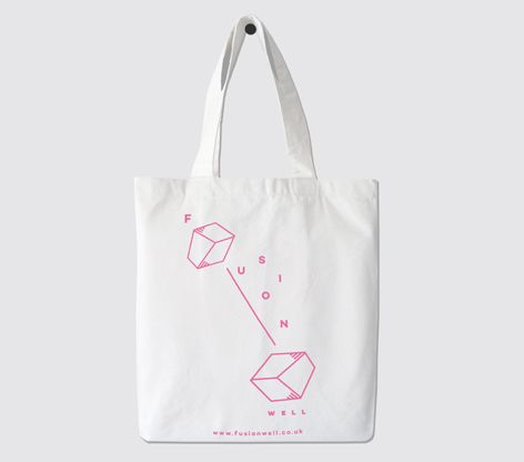 Tote bag design for FUSIONWELL-London based furniture company