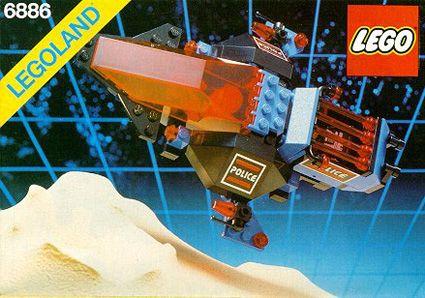 LEGO Space - Galactic Peacekeeper, 1989