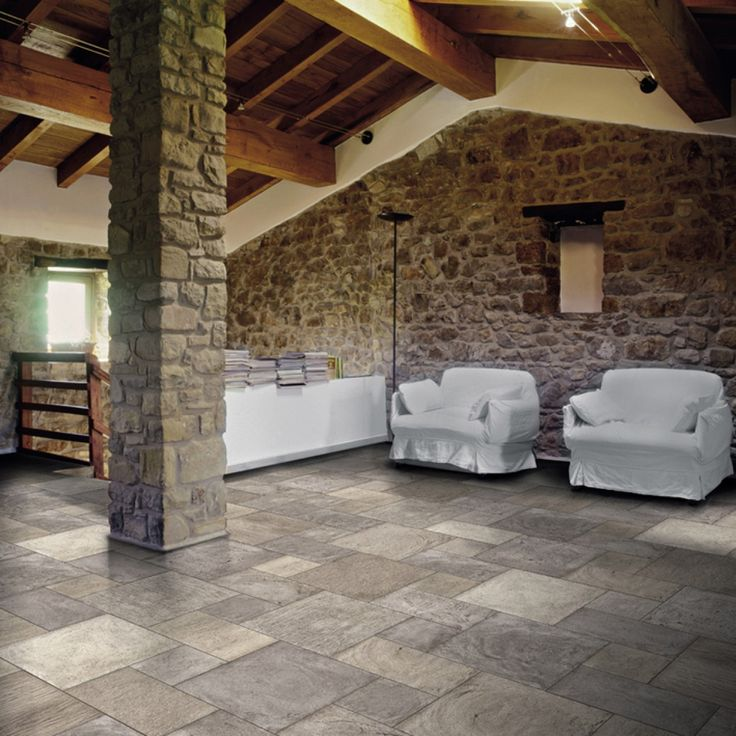 Biarritz Melange Mix Pattern 3 Range Of Stone Effect Floor Tiles