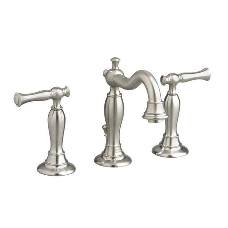 American Standard Quentin Widespread Bathroom Faucet 7440.851.295 Satin Bathroom Faucet