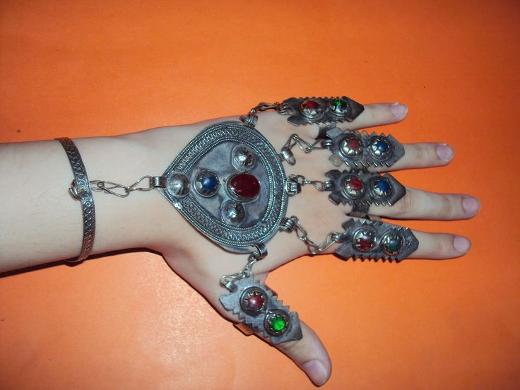 These are cuffs, having 5 rings and a pendant. Looks beautiful.  I have 5 in stock.