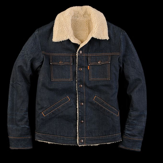 Levi's Sherpa Lined Trucker Jacket