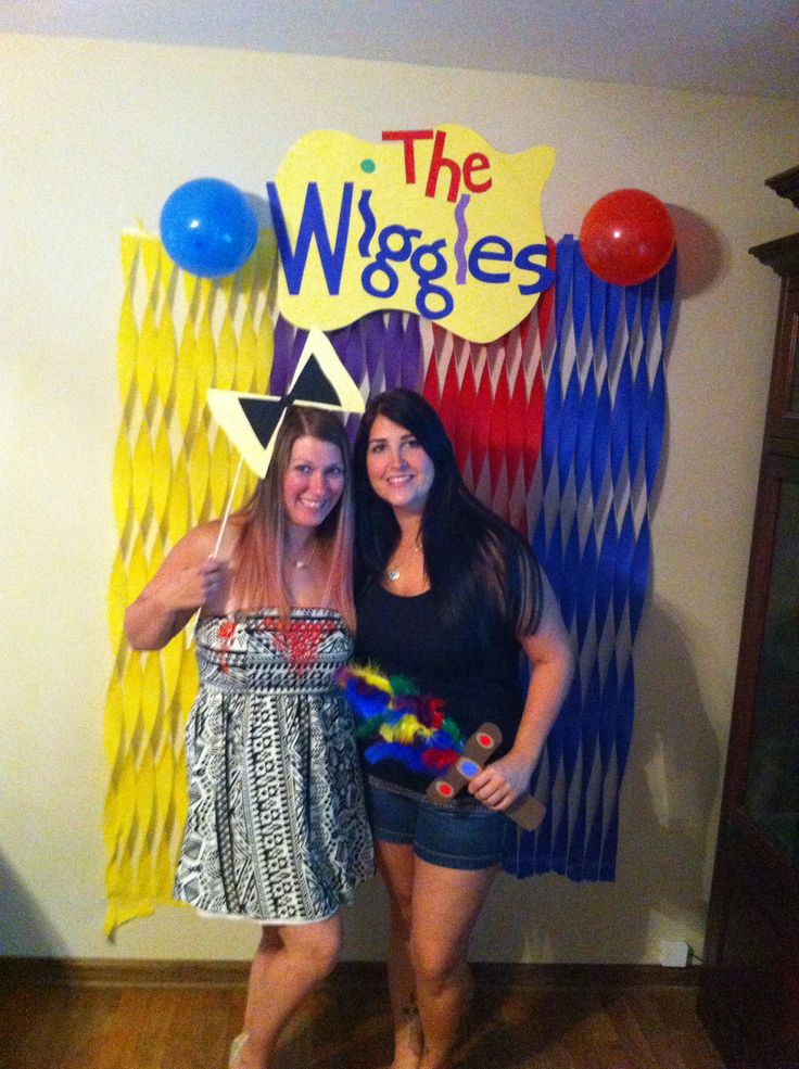 Wiggles Photobooth with Props