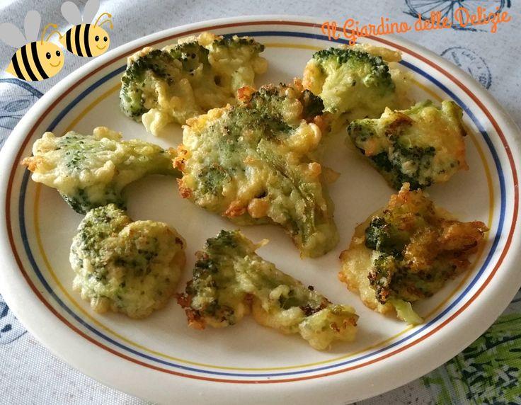 Le cimette di broccoli in pastella sono uno sfizioso antipasto o contorno con pastella al vino bianco, gustosa e croccante piacerà anche ai bambini