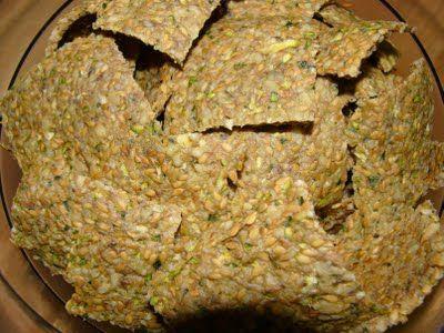 Tebasiles Kitchen: Zucchini Crackers
