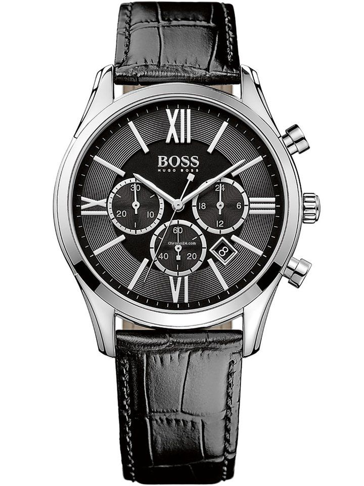 Ανδρικά Ρολόγια : Hugo Boss Black Ambassador Chrono 1513194