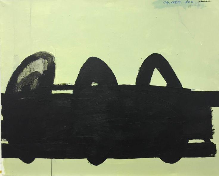 Björn Molin 14.020. (dec). 116 x 89 cm, mixed media on canvas.