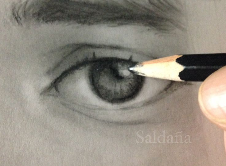 Eye Graphite by T Saldaña