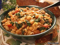 Healthy Tuscan One Pot #Italian #Recipe