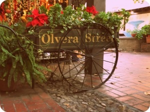 One of my favorite places in my hometown  La Placita Olvera in Los Angeles.
